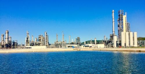 Dự án Lọc hóa dầu Nghi Sơn, Thanh Hóa. Ảnh: PVN