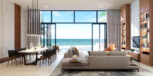 Đẳng cấp Thụy Sĩ tinh tế thể hiện trên từng đường nét kiến trúc nội thất của biệt thự Mövenpick Resort Waverly Phú Quốc