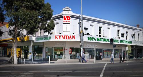 Cửa hàng nệm Kymdan ở Melbourne, Australia