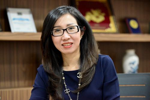CEO NutiFood Trần Thị Lệ. Ảnh: NutiFood.