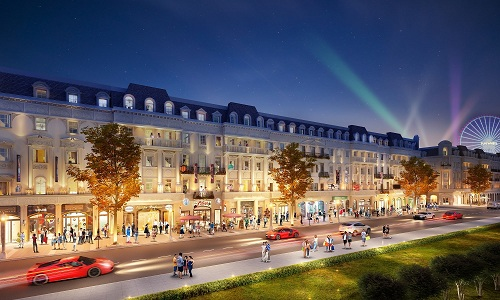 Phân khu nhà phố thương mại châu Âu là những căn shophouse mặt đường cuối cùng trong khu phức hợp Sun Plaza Grand World. Hotline: 093 520 5858. Website: http://sunplazagrandworld.com.