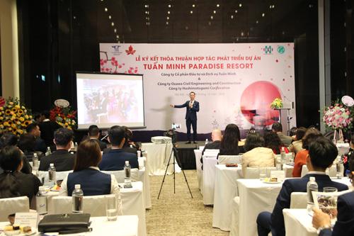 Giám đốc phân tích đầu tư của Tuấn Minh Group giới thiệu về dự án.
