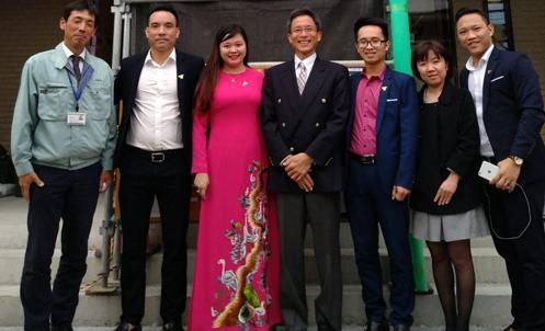 Lãnh đạo Tuấn Minh Group làm việc với đối tác tại Nhật Bản