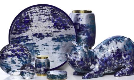 Bluemoon - quà tặng sơn mài Hanoia làm đẹp không gian sống