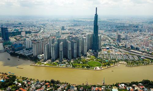Các dự án căn hộ tại TP HCM. Ảnh: Quỳnh Trần