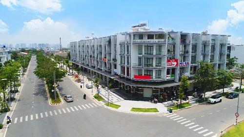uyến phố thương mại sầm uất trên đường Nguyễn Thị Nhung