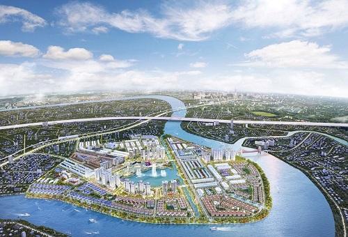 Khu đô thị Vạn Phúc là một trong những bán đảo được đầu tư, quy hoạch bài bản bên sông Sài Gòn