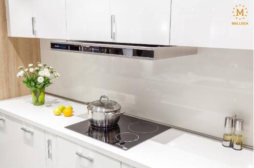 Không gian nhà bếp với thiết bị của Malloca trở nên tinh tế, đẳng cấp