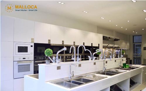 Các thiết bị nhà bếp Malloca mang tính đồng bộ cho không gian bếp.