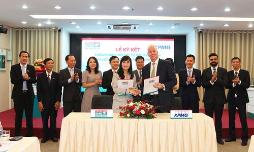 Kienlongbank ký kết thỏa thuận hợp tác với KPMG