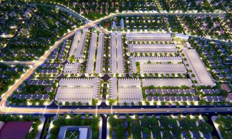 Đất nền The Sun City - điểm nhấn của bất động sản Bình Dương