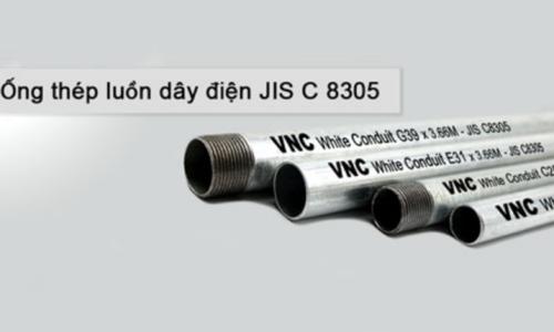 3 loại ống thép luồn dây điện lắp đặt theo tiêu chuẩn JIS C 8305