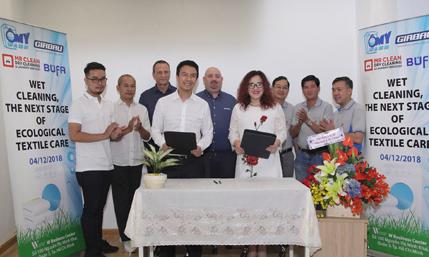 Ômywash hợp tác cùng Mr Clean phát triển dịch vụ giặt ủi công nghiệp