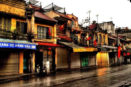 Phố Cổ Hà Nội, một góc nhìn hoài niệm (Ảnh: internet)