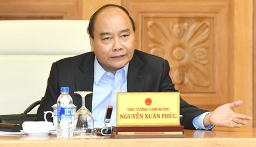 Thủ tướng Nguyễn Xuân Phúc. Ảnh: VGP