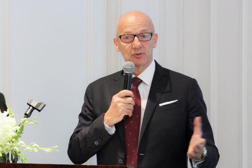 Ông Patrick Basset - Giám đốc Điều hành khu vực Đông Nam Á và Đông Bắc Á AccorHotels.f