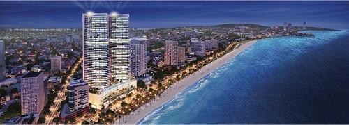 Nha Trang là một trong những điểm đến thu hút nhiều dự án bất động sản nghỉ dưỡng.