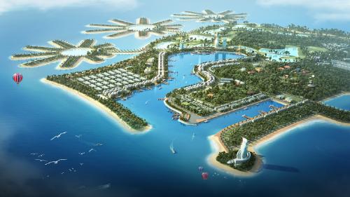 Tuần Châu Marina được ví như Hong Kong thu nhỏ giữa lòng Hạ Long.