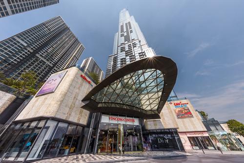 Vincom Center Landmark 81 là dự án đáng chú ý nhất của ngành bán lẻ trong năm vừa qua