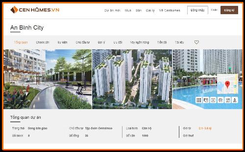 Khách hàng có thể thực hiện giao dịch mua và bán bất động sản trên CenHomes.vn.