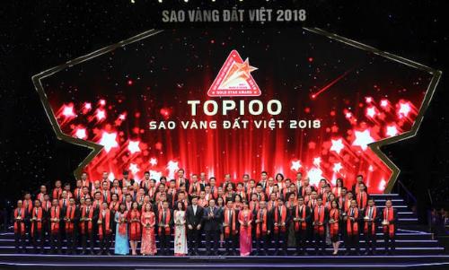 VietABank được vinh danh Top 100 Sao vàng đất Việt