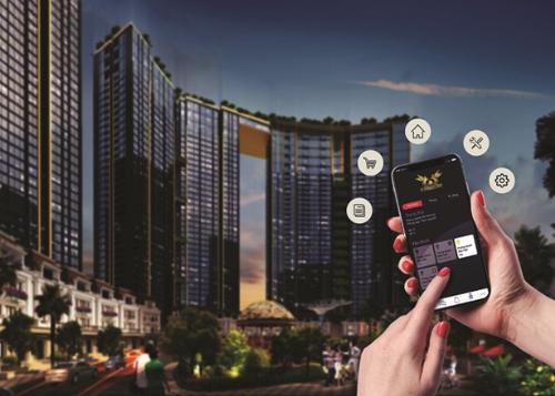 Sunshine City, một dự ánđã ứng dụng công nghệ 4.0 giúp khách hàng dễ dàng quản lý căn hộ.