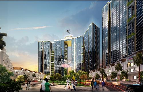 Sunshine City là một trong những dự án cao cấp nằm trong chuỗi dự án của Sunshine Group quanh khu đô thị Nam Thăng Long (Ciputra).