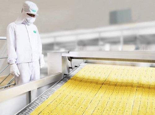 Uniben đầu tư dây chuyền hiện đại nhằm tạo ra những sản phẩm chất lượng, thơm ngon và đảm bảo vệ sinh an toàn thực phẩm.