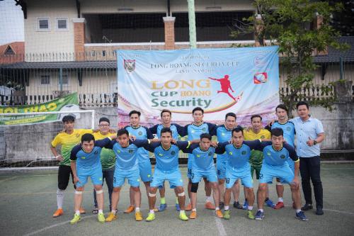Toàn bộ đội hình :Võ Trung Hải quán quân Long Hoàng Security cup 2018.