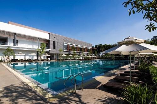 Khu phức hợp thể thao và nghỉ dưỡng Celadon Sports & Resort Club được trang bị cơ sở vật chất hiện đại.