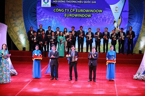 Eurowindow 4 lần liên tiếp đạt Thương hiệu Quốc gia - 1
