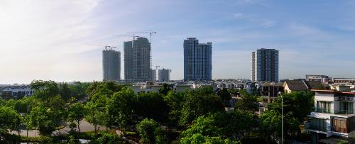 Bối cảnh thực tế dự án Gamuda Gardens.