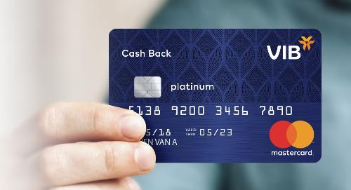 Thẻ VIB Cash Back có nhiều tính năng và ưu đãi lớn dành cho những chủ thẻ thích mua sắm.