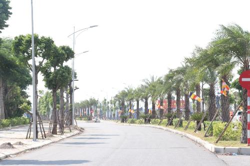 Khu đô thị Mường Thanh Thanh Hà được khởi công xây dựng từ tháng 11/2017.