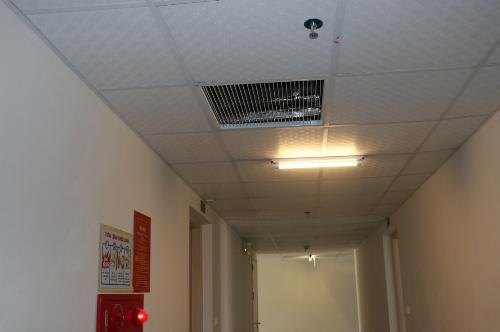 Hệ thống phòng cháy chữa cháy, thông gió được lắp mới và đưa vào hoạt động ngay khi người dân nhận nhà.