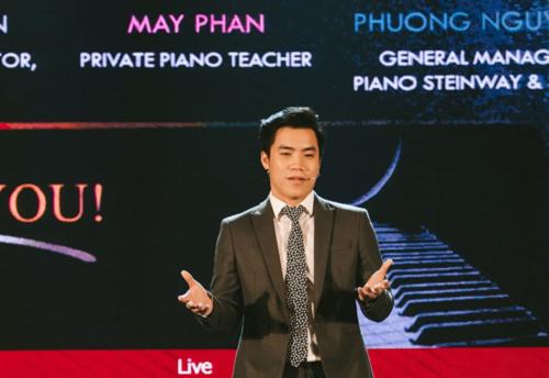 Vợi dự án lớp học piano online, thí sinh Phan Trần Đức Huyến mong muốn:  Xây dựng và lan tỏa phương pháp học kết hợp với công nghệ, Mây Piano & App mong muốn giúp đỡ các học viên đàn được bài hát yêu thích trong thời gian ngắn nhất.