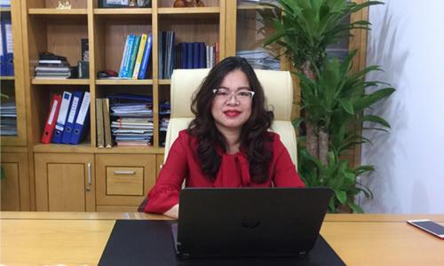 bà Trần Thị Thu Hiền - Giám đốc nhà phân phối bất động sản DTJ Group