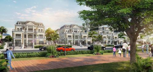 Phối cảnh thiết kế biệt thự The Riviera Villas.
