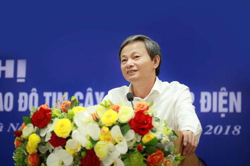 Ông Trần Đình Nhân được bổ nhiệm làm Tổng giám đốc EVN.