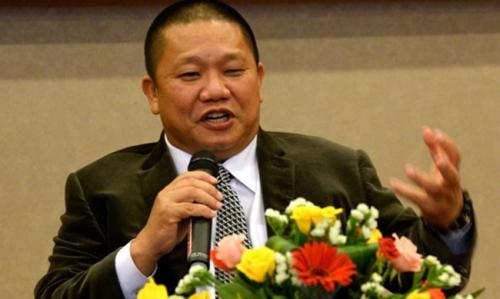 Chủ tịch HĐQT Tập đoàn Hoa Sen - ông Lê Phước Vũ.