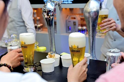 Sapporo Premium Bar - điểm đến cho bạn những trải nghiệm thú vị
