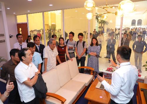 Các đại lý trực tiếp trải nghiệm thực tế hệ thống MPE Smart Control tại hội thảo và hội nghị.