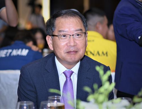Ông Lee Young Kyung - Tổng giám đốc điều hành công ty Lavifood