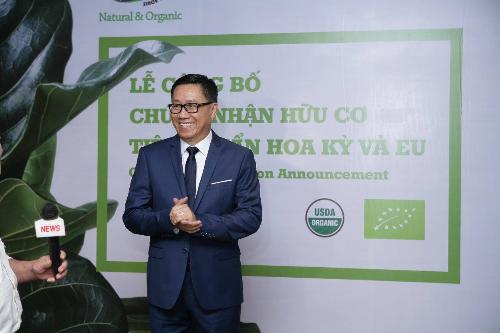 Ông Nguyễn Lâm Viên, Chủ tịch Hội đồng Quản trị, Tổng giám đốc Công ty cổ phần Vinamit.