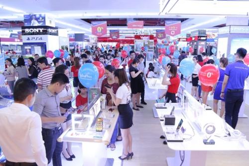 VinPro và Viễn thông A giảm giá ưu đãi lên tới 50% cho hàng nghìn sản phẩm.