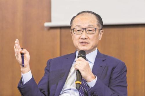 Chủ tịch World Bank - Jim Yong Kim. Ảnh: Bloomberg