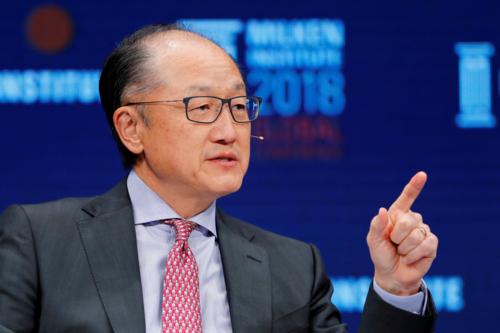Ông Kim Yong Kim từ chức Giám đốc World Bank từ 1/2.
