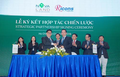 Ricons sẽ là Nhà thầu xây dựng cho dự án NovaHills Mũi Né Resort & Villas (Phan Thiết, Bình Thuận).