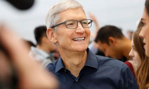 CEO Apple - Tim Cook. Ảnh: CNBC