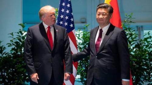 Tổng thống Mỹ - Donald Trump và Chủ tịch Trung Quốc - Tập Cận Bình. Ảnh: AFP